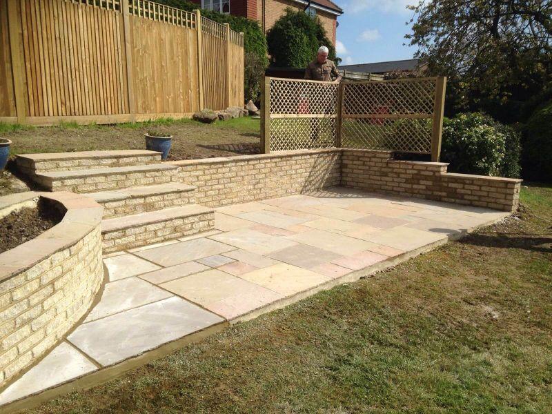 Sandstone Patio - Crowborough, Sussex