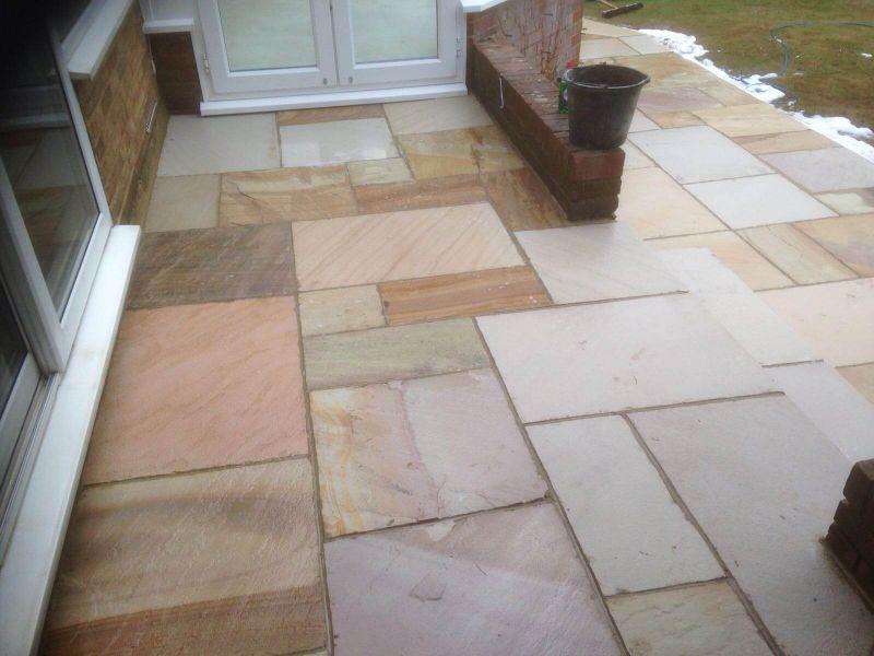 Sandstone Patio - Cranbrook, Kent