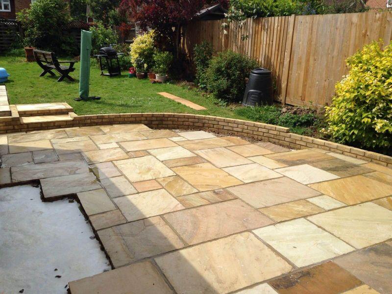Sandstone Patio - Tonbridge, Kent
