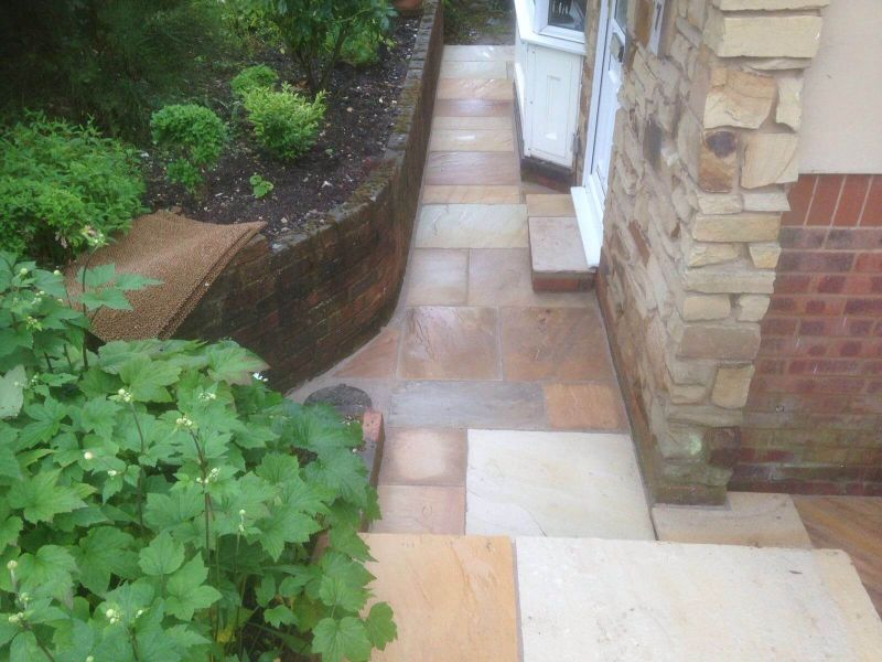 Sandstone Pathway - Tonbridge